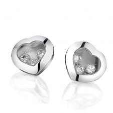 Chopard HAPPY DIAMONDS HEARTS EARRINGS