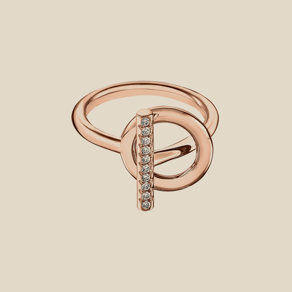 HERMES - Echappee Hermes ring, small model
