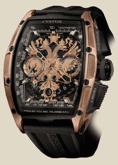 Cvstos - Proud To Be Russian Chrono Black