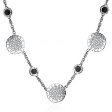 Bvlgari BVLGARI DIAMOND ONYX NECKLACE