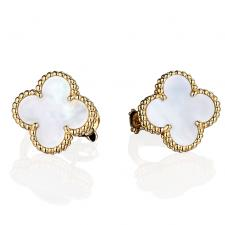 Van Cleef & Arpels. VINTAGE ALHAMBRA EARRINGS