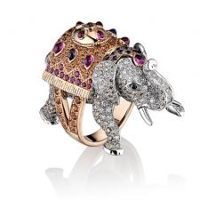 Boucheron HATHI, THE ELEPHANT FAMILY