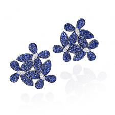 GRAFF TRIPLE PAVE BUTTERFLY