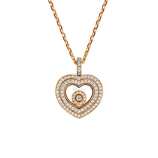 Chopard HAPPY DIAMONDS PENDANT ROSE GOLD