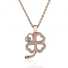Chopard HAPPY DIAMOND CLOVER PENDANT