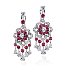 GRAFF ROSETTE EARRINGS