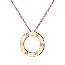 Cartier LOVE NECKLACE, 3 DIAMONDS
