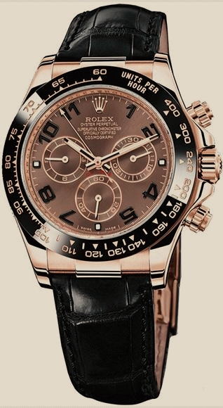 Rolex - 116515 Chocolate Brown