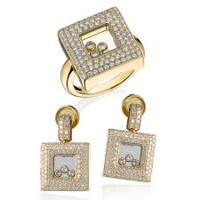 Chopard HAPPY DIAMONDS SQUARES