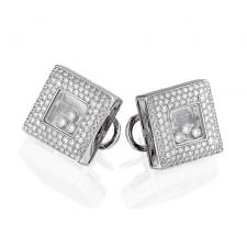 Chopard HAPPY DIAMONDS SQUARES EARRINGS