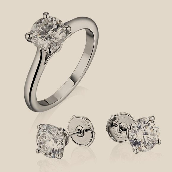 Cartier - 1.24 CT H/VS - 1.72 CT D/VS1 - 1.73 CT E/VVS2