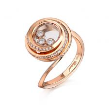 Chopard HAPPY DIAMONDS EMTIONS RING