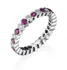 GRAFF ETERNITY RING, RUBY