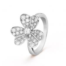 Van Cleef & Arpels. FRIVOLE RING, 1 FLOWER