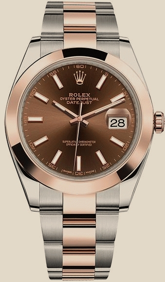 Швейцарские часы Rolex 41mm Steel and Everose Gold