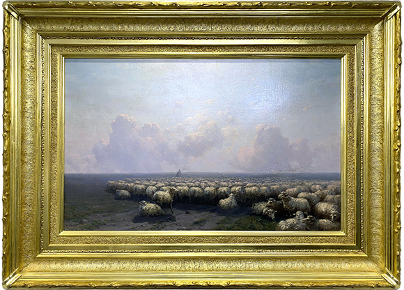 Отара овец. Айвазовский И.К