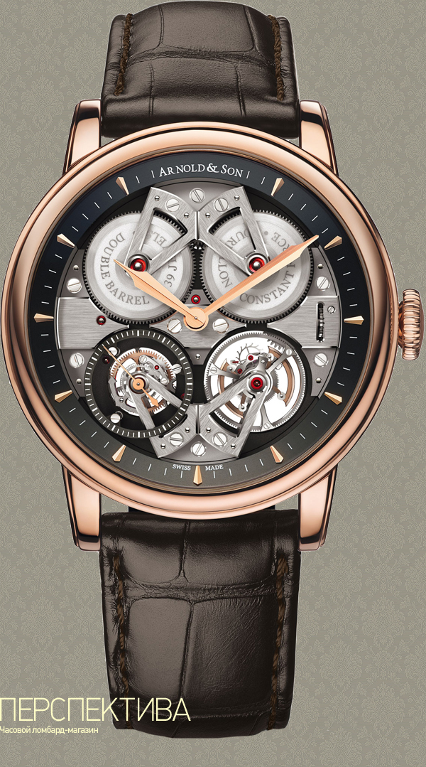 Arnold & Son Constant Force Tourbillon часы с турбийоном