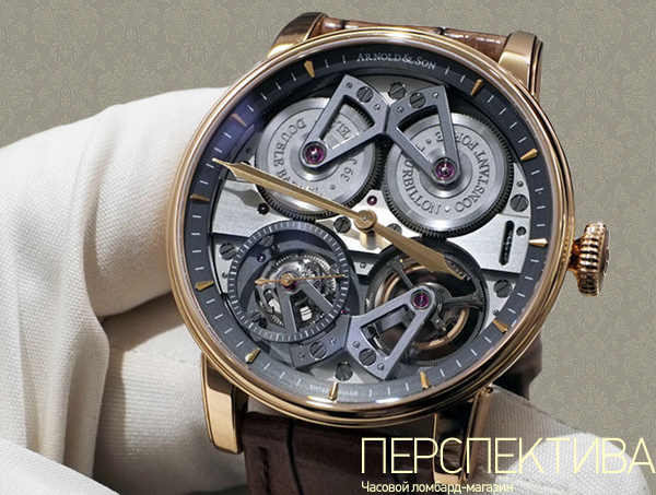 Arnold & Son Constant Force Tourbillon скелетон