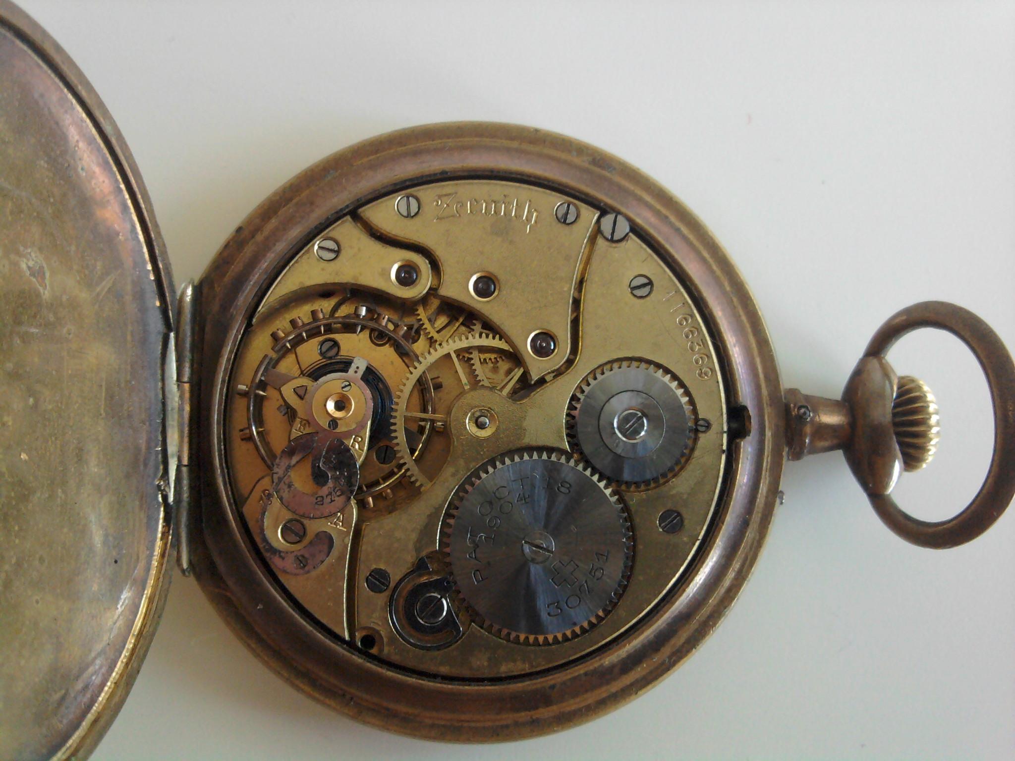Антиквариат. Часы карманные Zenith 789a62d3dd8