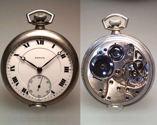 Старинные и антикварные часы Zenith - способы определения подлинности