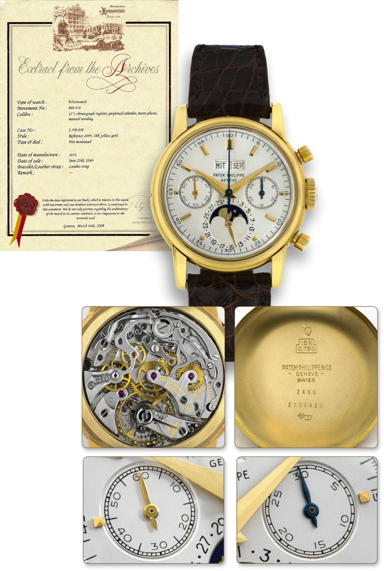 Инструкция для часов patek philippe